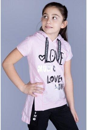 MinnakEller Çocuk  Love Baskılı T-shirt