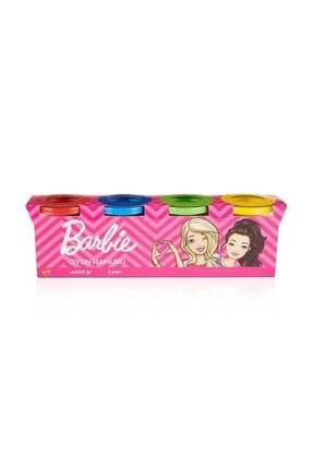 Barbie Oyun Hamuru 4lü 400 g