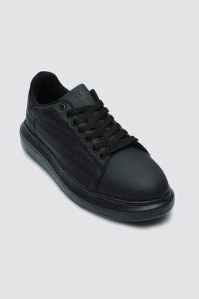 D'S Damat Twn Siyah Ayakkabı