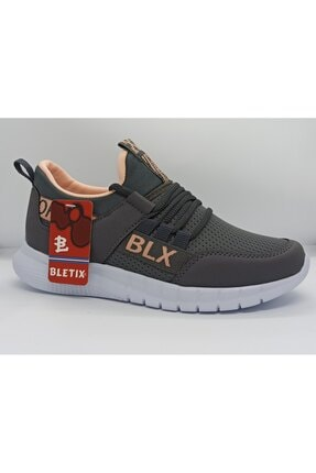 Bletix Kadın Pudra Gri Spor Ayakkabı