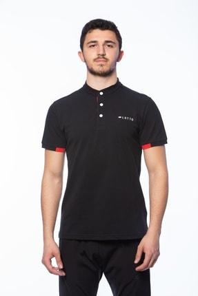 Lotto Erkek Siyah Polo Yaka Tshirt