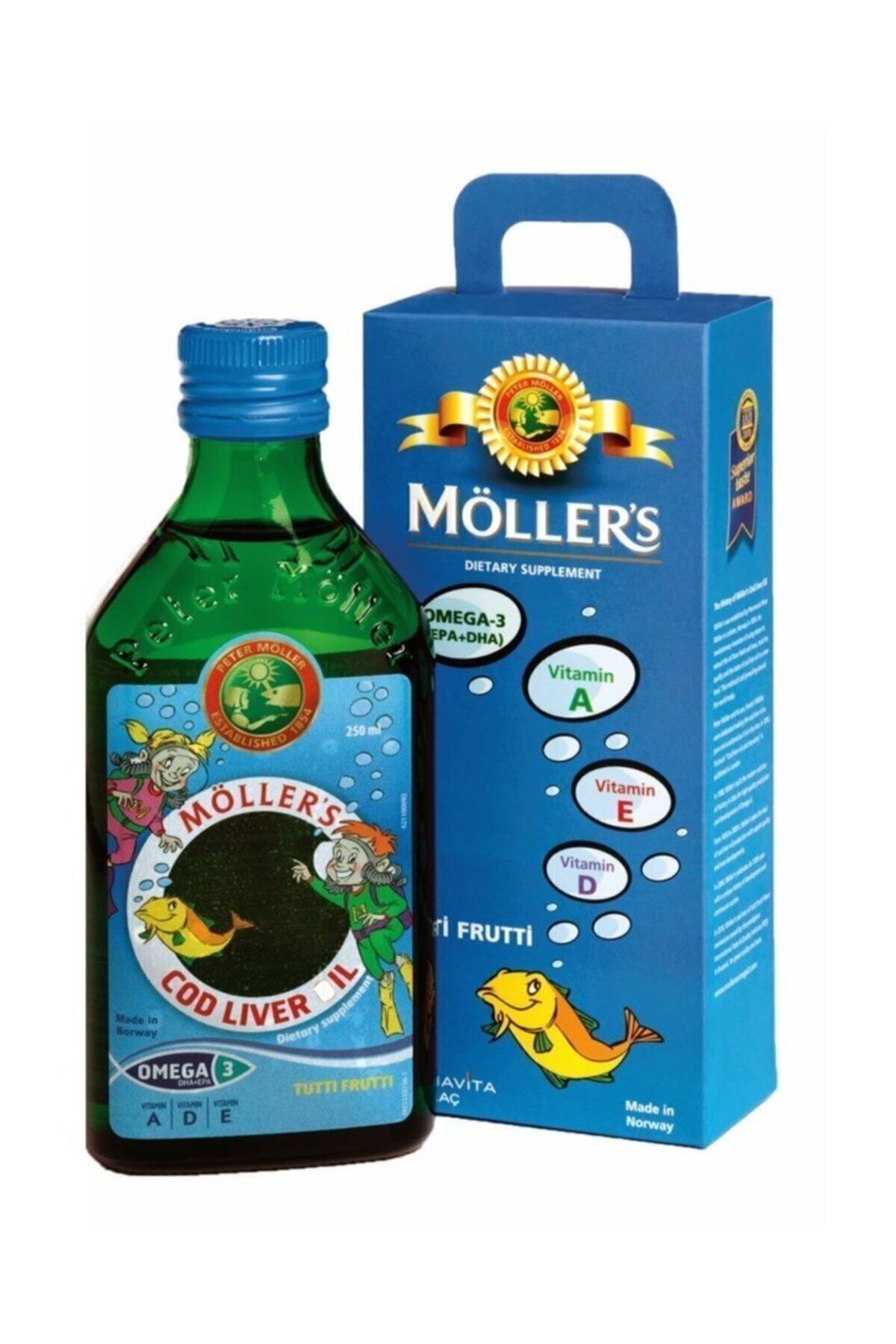 Mollers Möllers Omega3 Balık Yağı Şurup 250ml 1