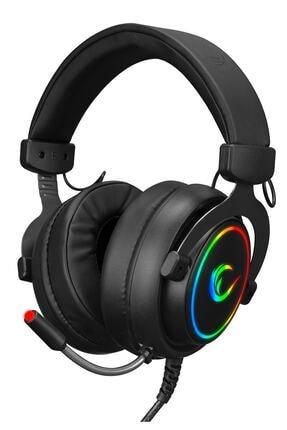 Rampage Rm-k11 X-nova Siyah 7,1 Usb Surround Rgb Ledli Gaming Oyuncu Mikrofonlu Kulaklık