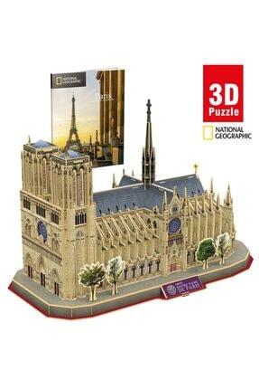 NECO TOYS National Geographic 128 Parça 3d Puzzle Notre-dame