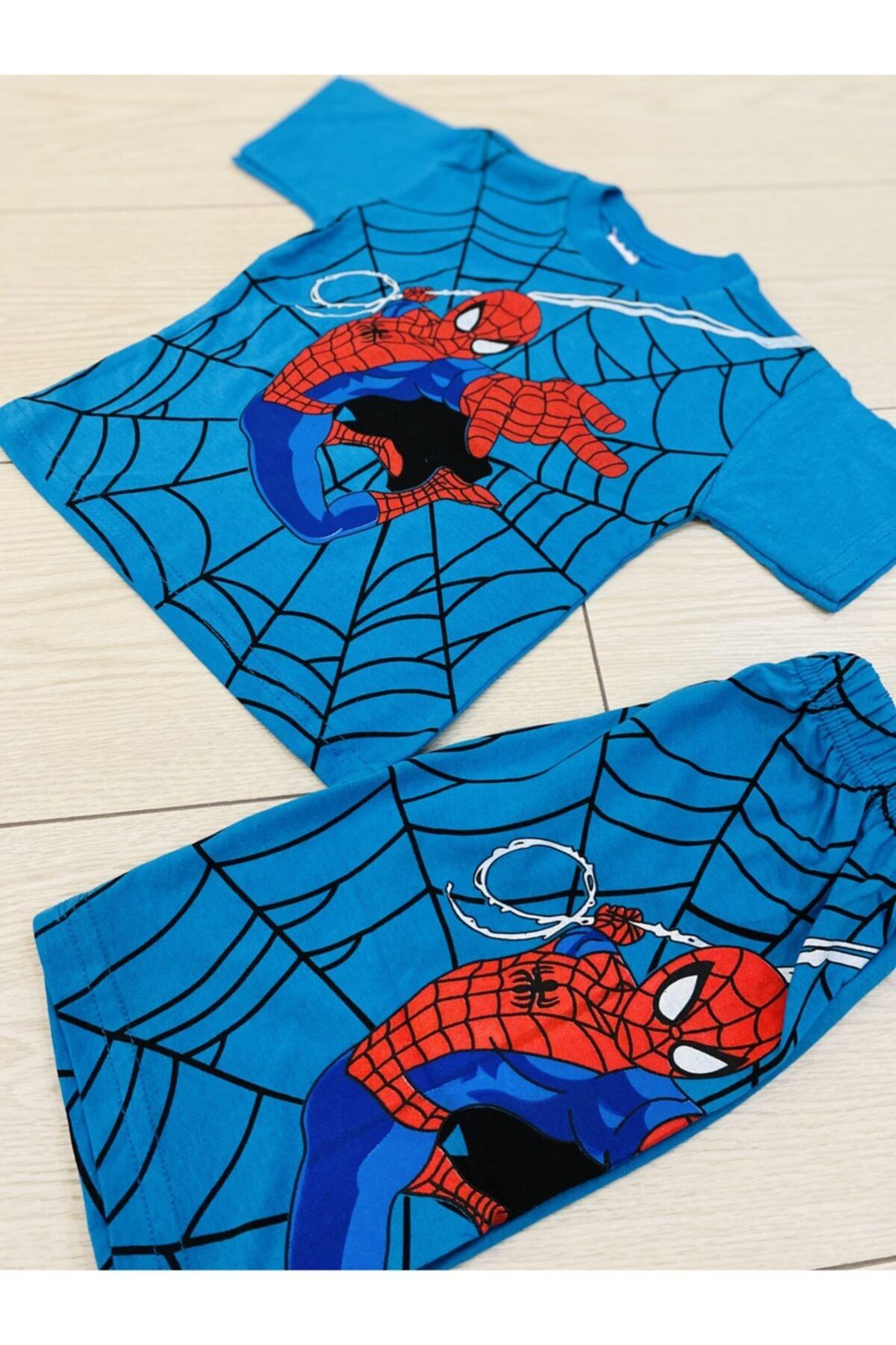 öykümgaleria Spiderman Çocuk Yazlık Takım 2