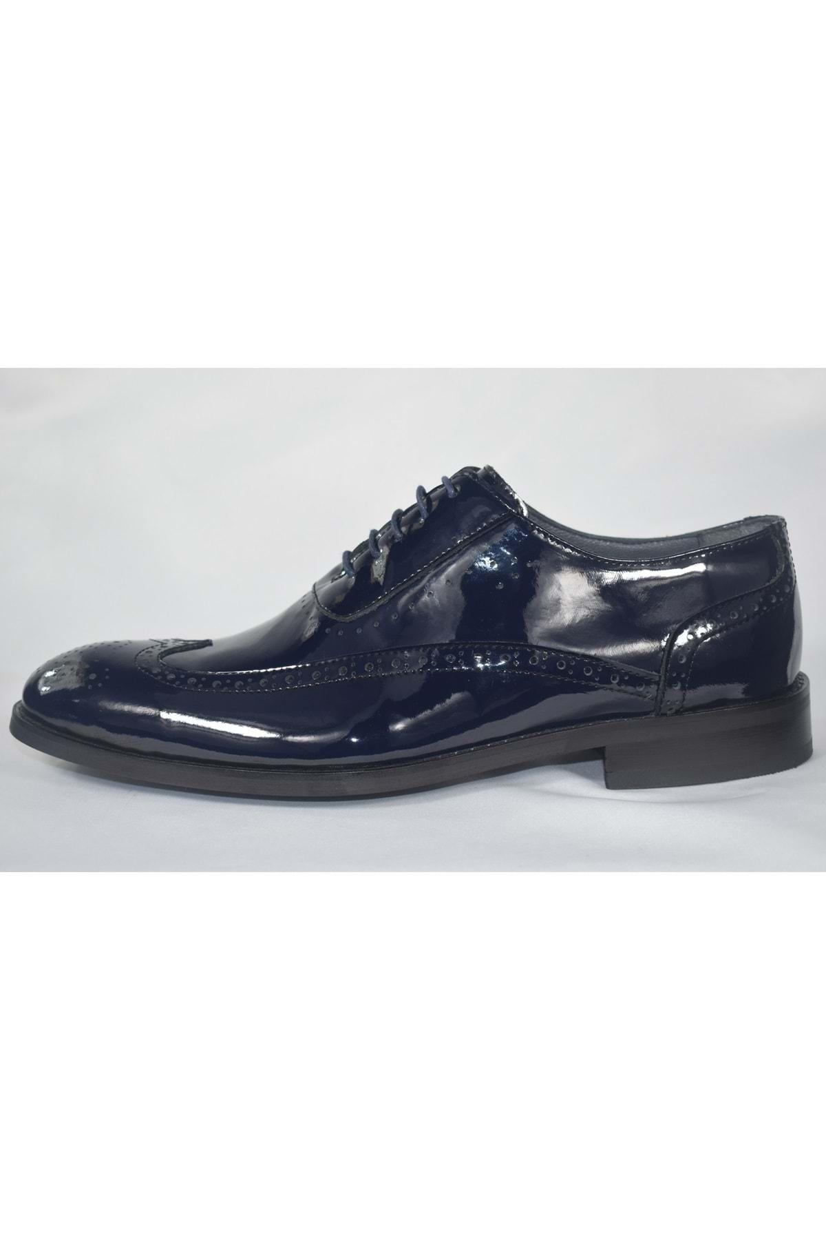 SAİLORS Erkek Lacivert Rugan Ayakkabı 2