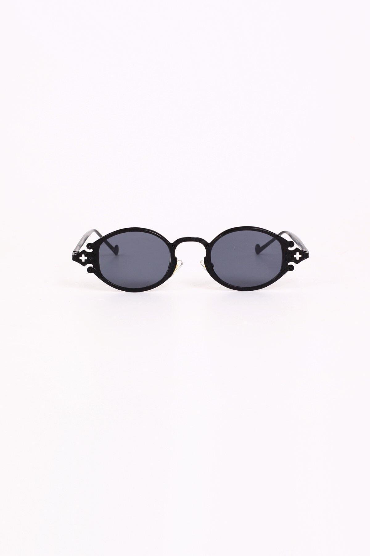 Curly Accessories Kadın Siyah Blekinge Black Güneş Gözlüğü 1