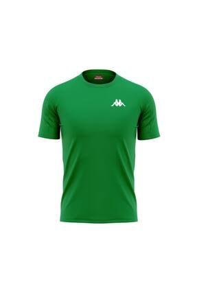 Kappa 304wnn0 Poly T-shirt Bux - Yeşil - M