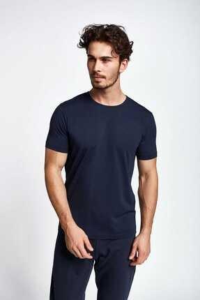 Lescon Erkek  Lacivert Kısa Kollu T-shirt 19s-1227-19b
