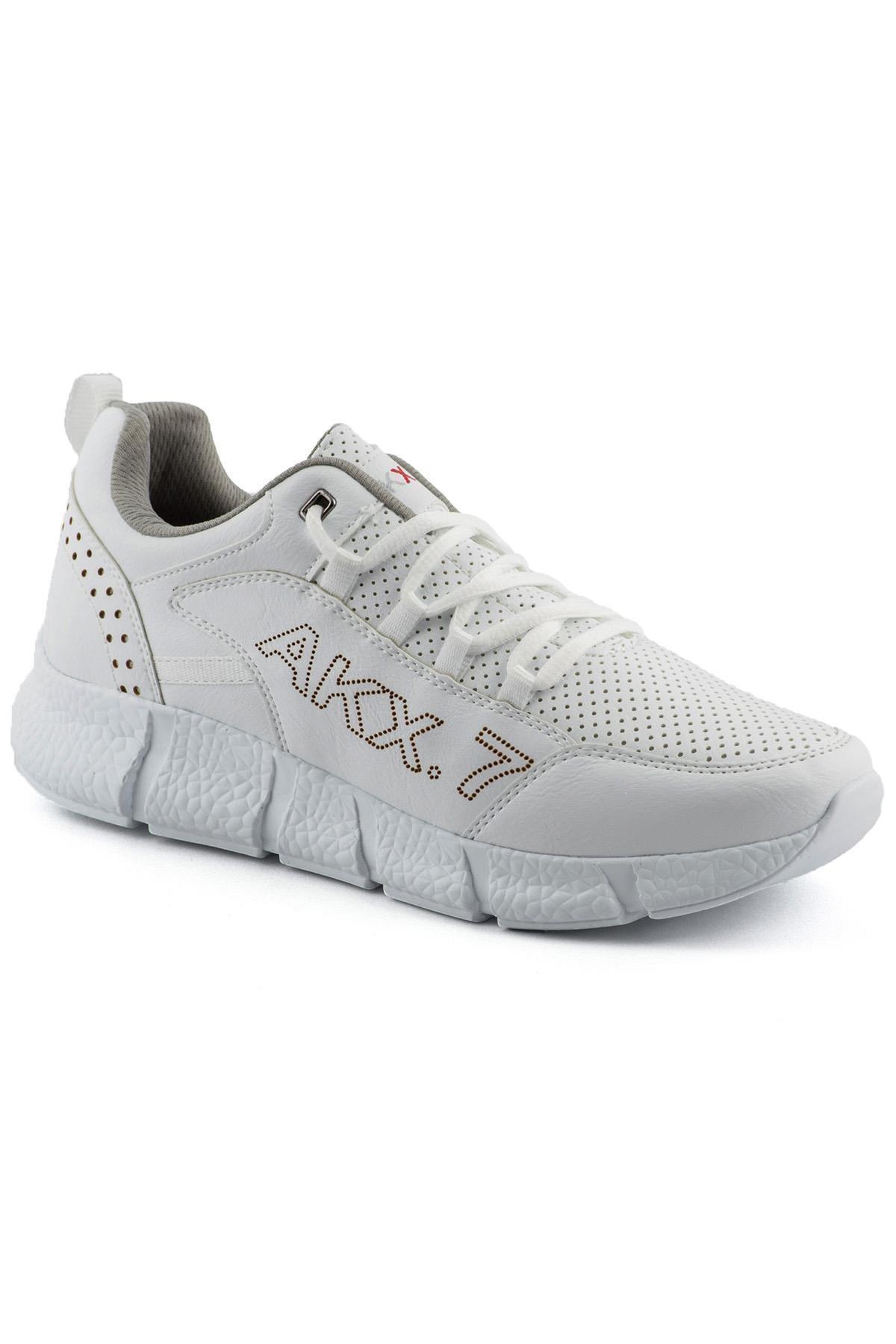 L.A Polo 021 Beyaz Beyaz Erkek Spor Ayakkabı 1