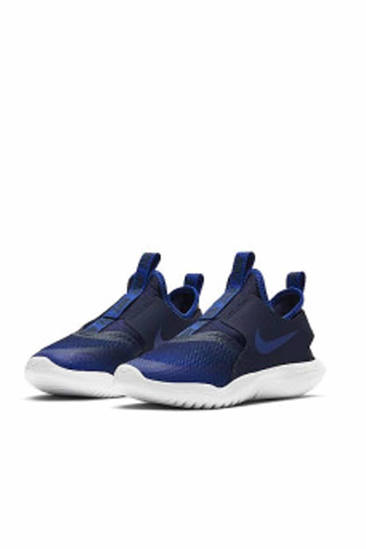 Nike Unisex Çocuk Lacivert Flex Runner Yürüyüş Koşu Ayakkabı At4663-407 1