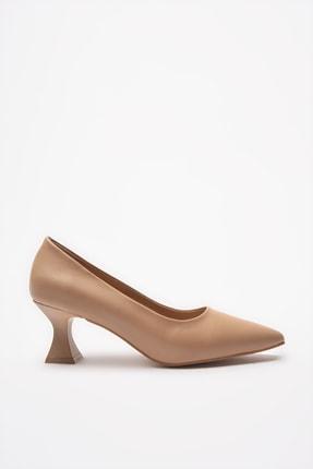 Hotiç Naturel Kadın Klasik Topuklu Ayakkabı 01AYH205380A330