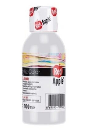 Red Apple Akrilik Boya Beyaz 100 gr. Ra110-15
