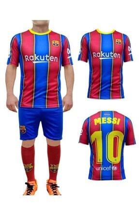Liggo Erkek Çocuk Barcelona Messi Forma Takımı Forma Şort Çorap