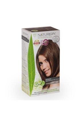 Naturigin Organik Içerikli Saç Boyası 4.6 Bakır Kahverengi