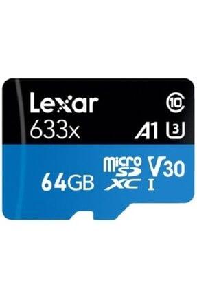 Lexar 64 Gb 633x U3 100mb/s Micro Sdhc Hafıza Kartı