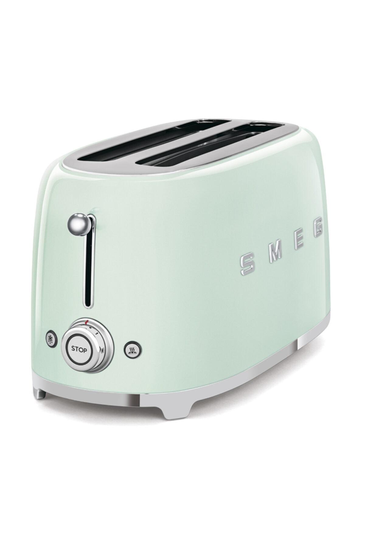 SMEG Pastel Yeşil 2x4 Ekmek Kızartma Makinesi 2