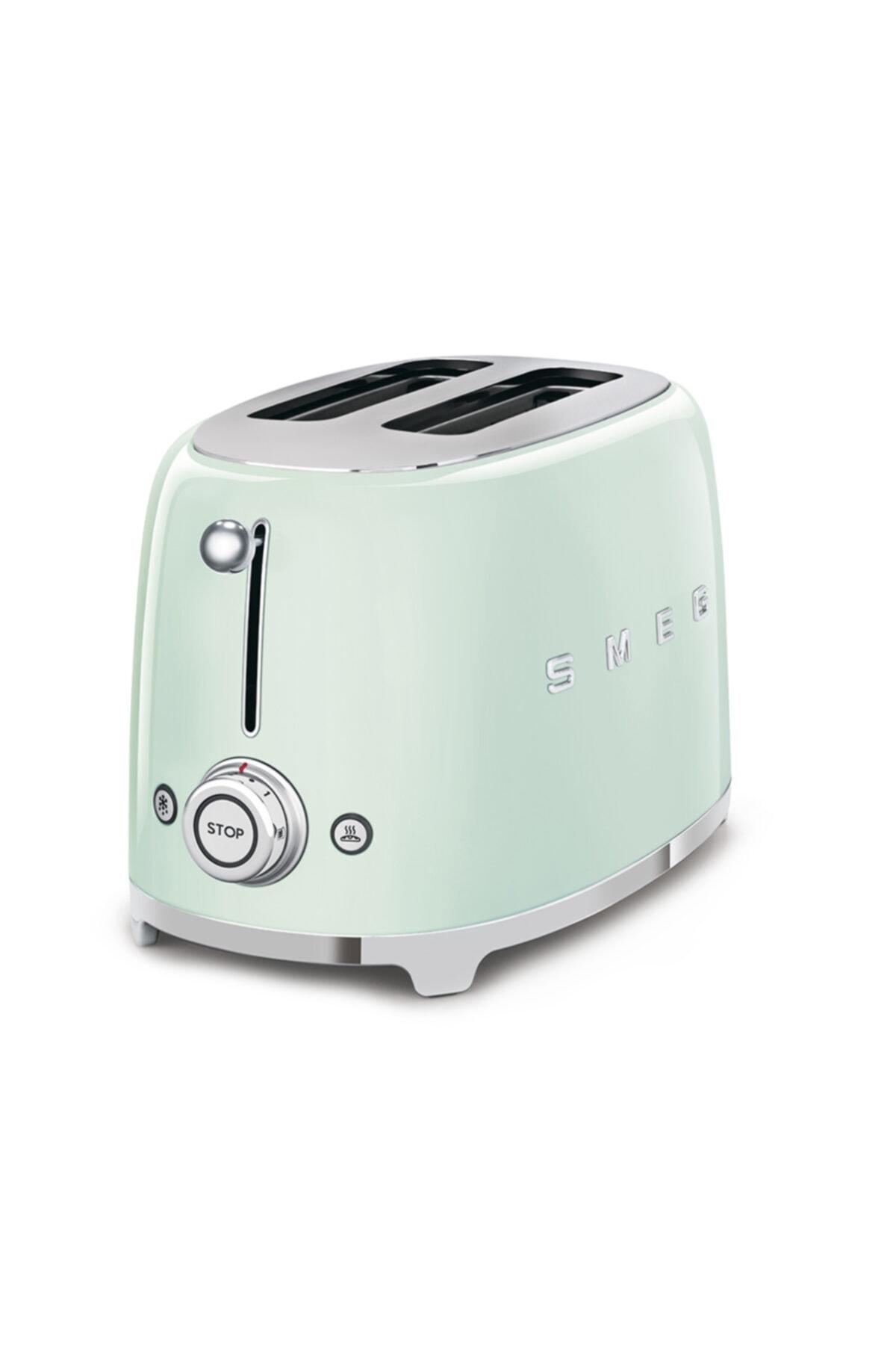 SMEG Pastel Yeşil 2x2 Ekmek Kızartma Makinesi 1