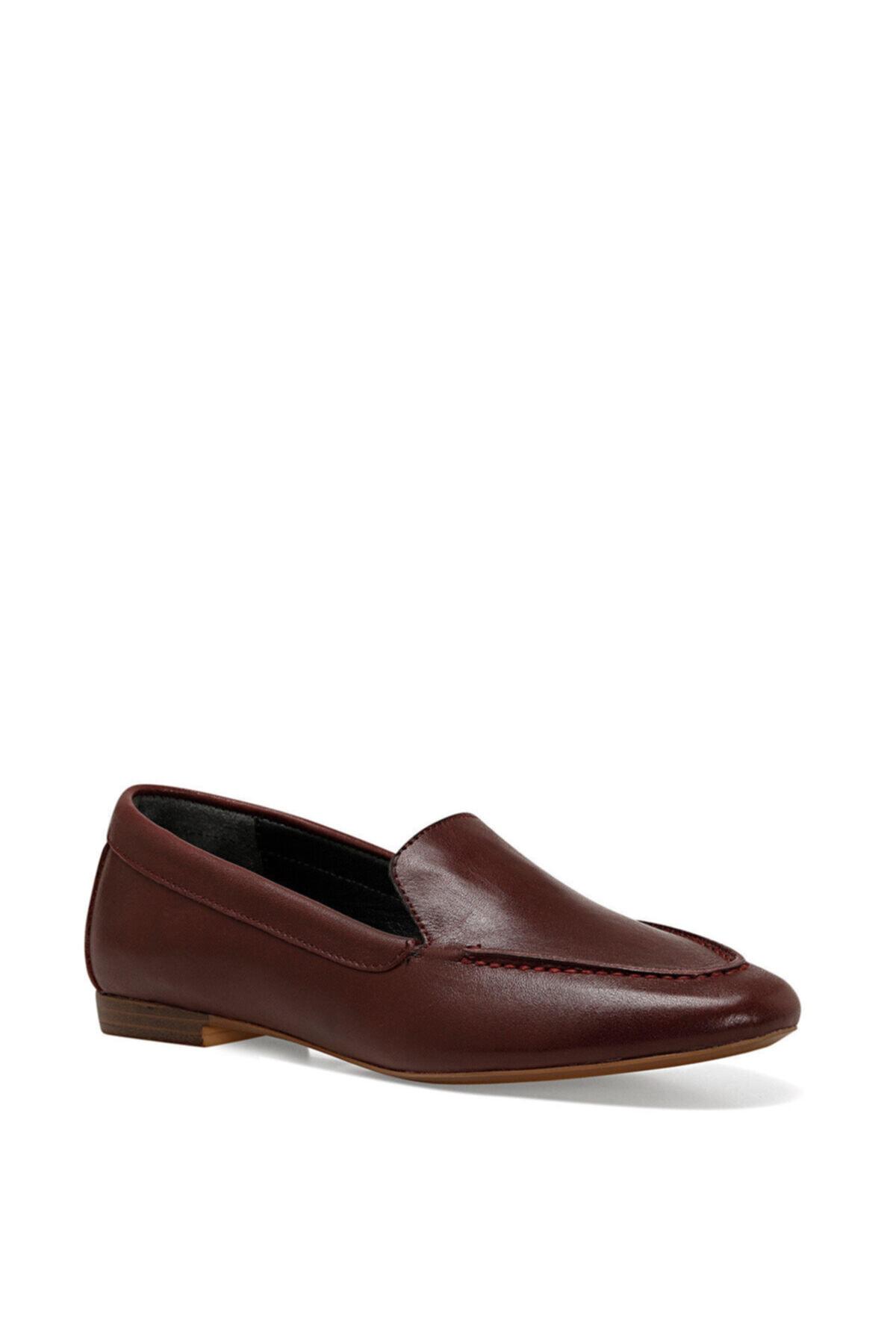 Nine West SUSHI Bordo Kadın Loafer Ayakkabı 100582253 2