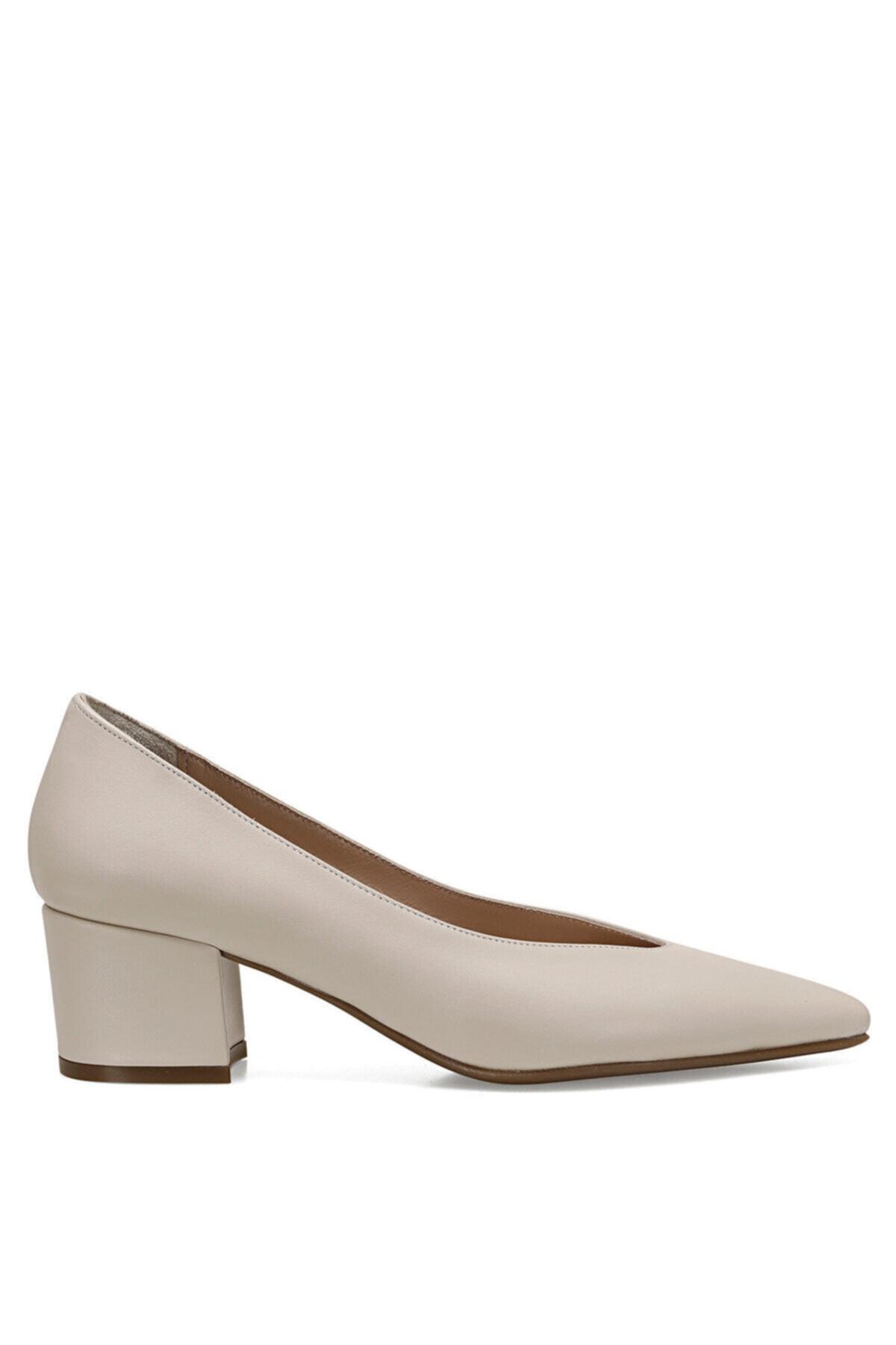 Nine West MARNA Beyaz Kadın Hakiki Deri Topuklu Ayakkabı 100582017 1