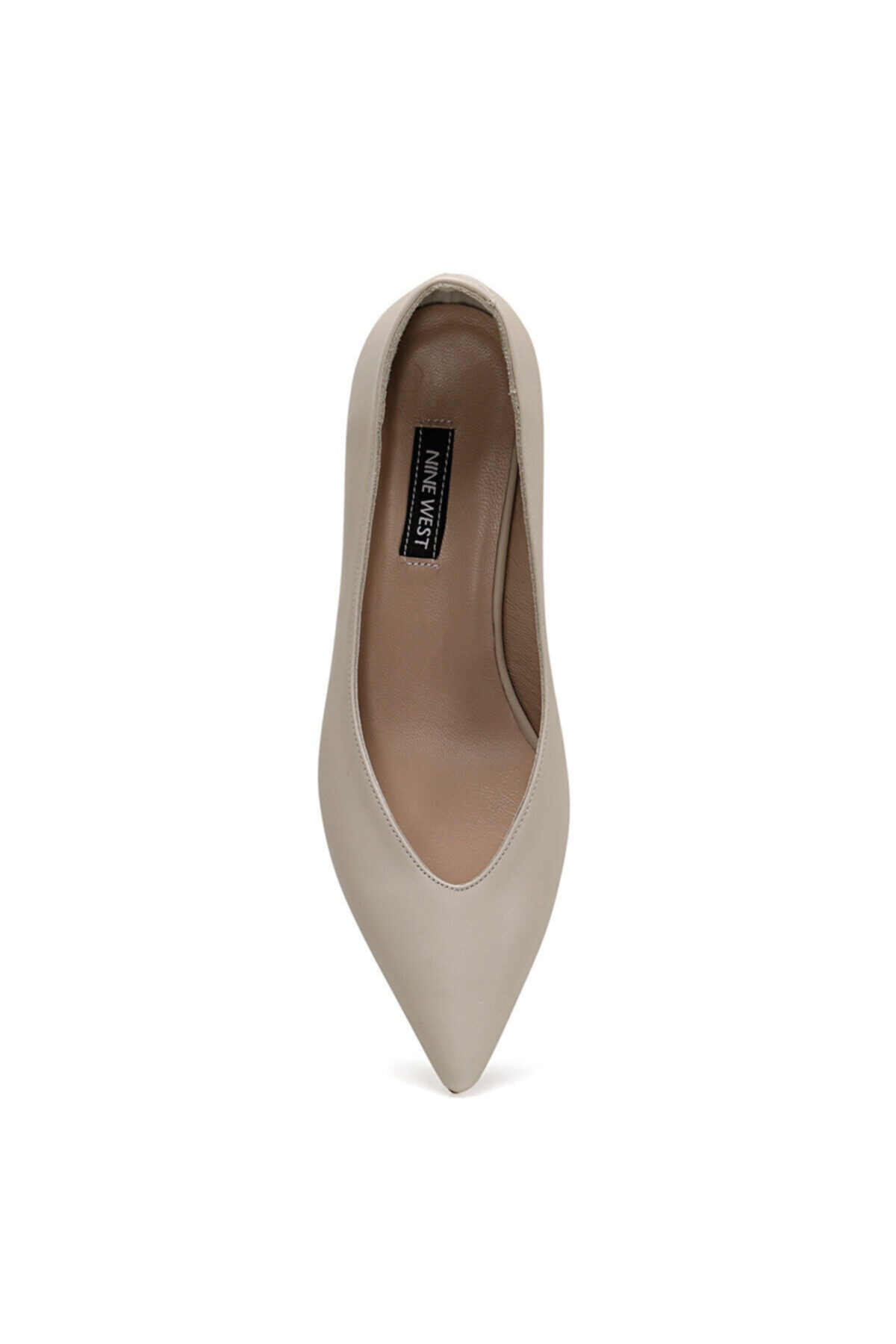 Nine West MARNA Beyaz Kadın Hakiki Deri Topuklu Ayakkabı 100582017 2