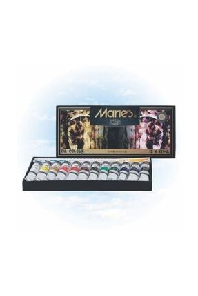 Maries Yağlı Boya 12 Renk X 12 Ml.