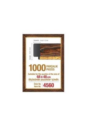 Art Puzzle 1000'lik Kahverengi Yapboz Çerçevesi