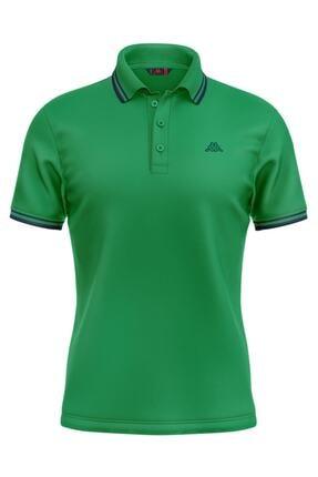 Kappa 6113sw0 Rdk Erkel Polo T-shirt Santa _ Yeşil Xxl