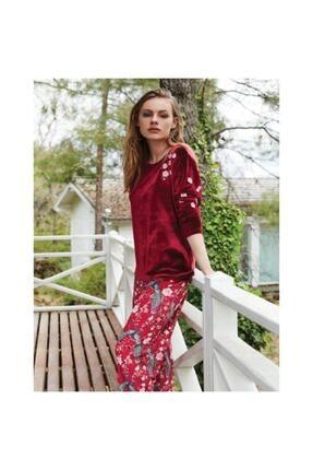 Penyemood Penye Mood 8400 Kadın Pijama Takım Bordo