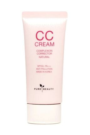 PURE BEAUTY Cc Cream Spf50+ Natural 40 ml