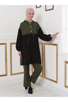 Tavin Kadın Haki Tunik&Pantolon İkili Takım 1521258