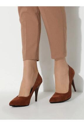 ayakkabıhavuzu Kadın Taba Topuklu Ayakkabı