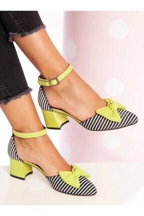 ayakkabıhavuzu Kadın Yeşil Topuklu Ayakkabı