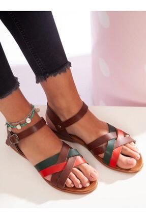 ayakkabıhavuzu Kadın Çok Renkli Sandalet
