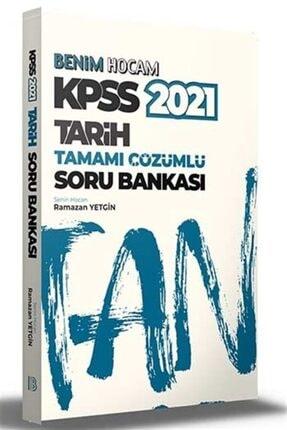 Benim Hocam Yayınları 2021 Kpss Tarih Tamamı Çözümlü Soru Bankası