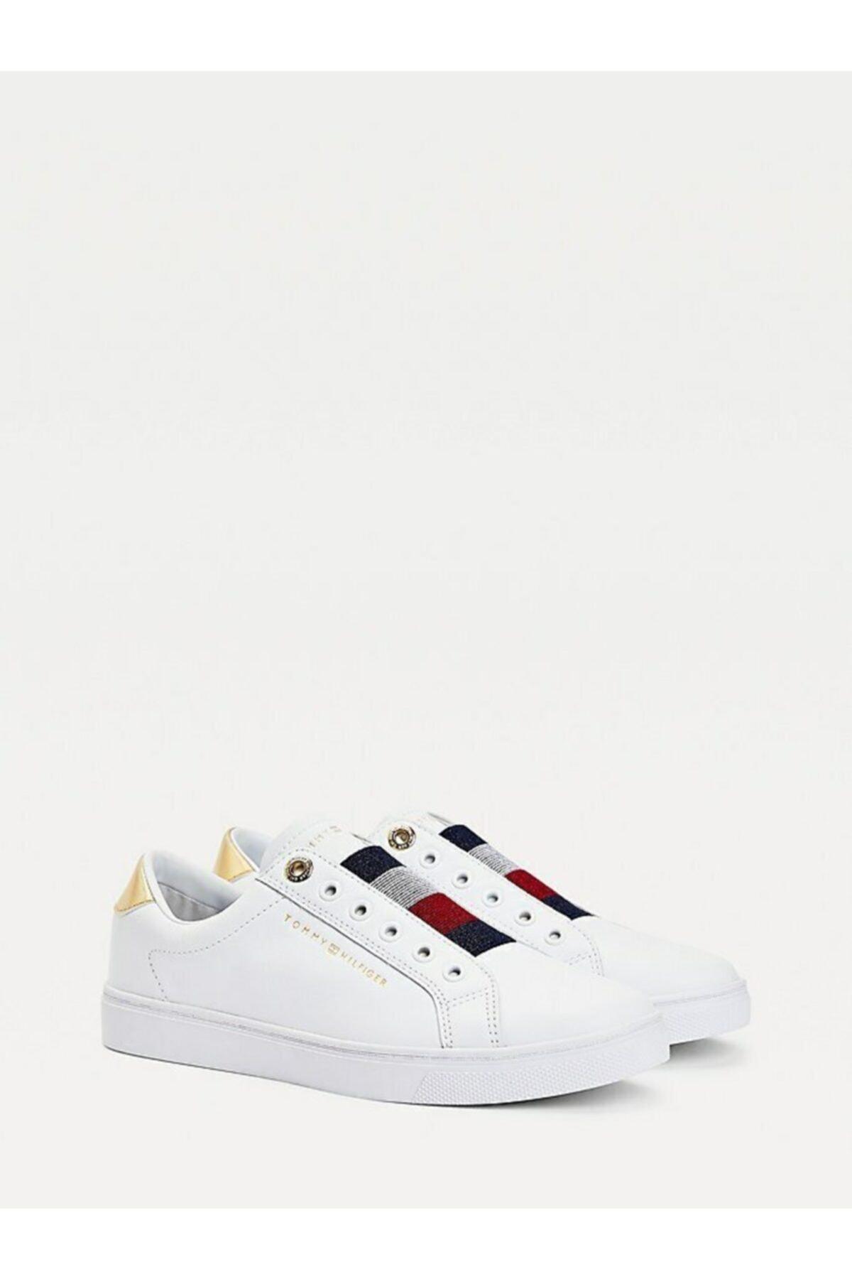 Tommy Hilfiger Th Elastıc Slıp On Sneaker 1