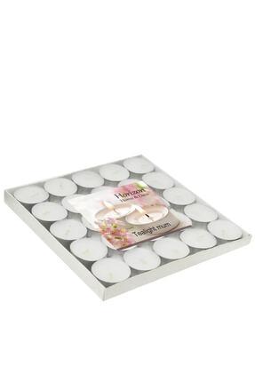 Horizon Mum Tealight Mum - Beyaz (25'li) / 6542-tr