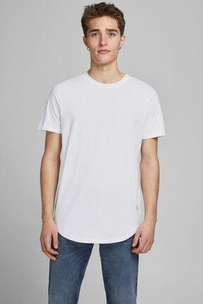 Jack & Jones Erkek Beyaz Essentials Tshirt
