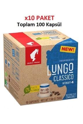 Julius Meinl Lungo Classico Nespresso Kapsül Kahve 100 Adet