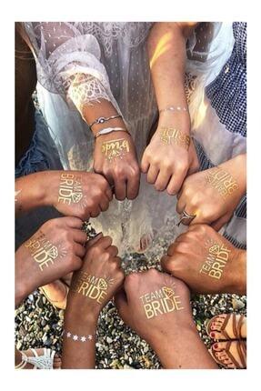 PartiDenizim Team Bride + Bride Geçici Dövme (7+1 Adet)