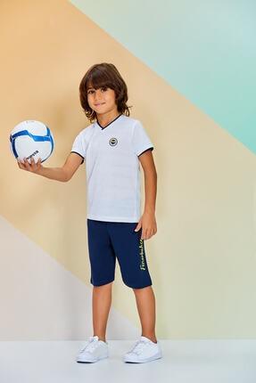 Fenerbahçe Lisanslı Erkek Çocuk Eşofman Takımı 2-16 Yaş L9584