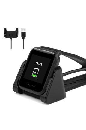 Master Cep Xiaomi Amazfit Bip Standlı Usb Şarj Kablosu A1608-a1915 - Siyah