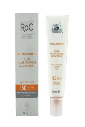 Roc Hassas Cilt İçin Güneş Kremi -Soleil Protect High Tolerance Comfort Fluid Spf 50