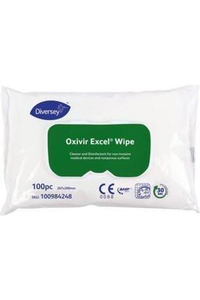Diversey Oxivir Excel Ce Wipe 100lü Dezenfektan Mendil