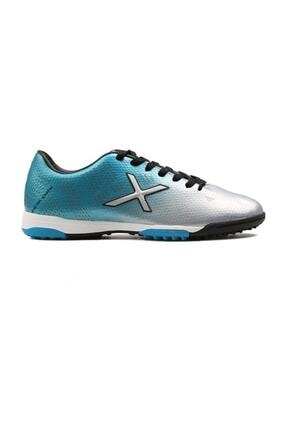 Kinetix Street Turf X 100242812 Gümüş Mavi Halı Saha Ayakkabısı