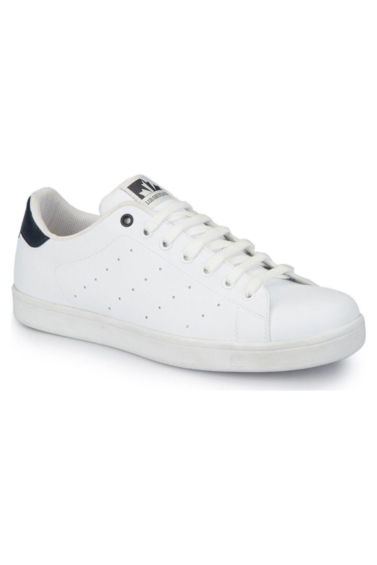lumberjack GRAZZI 1FX Beyaz Erkek Sneaker Ayakkabı 100785186 1