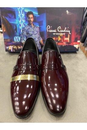 Pierre Cardin Erkek Bordo Rugan Ayakkabı