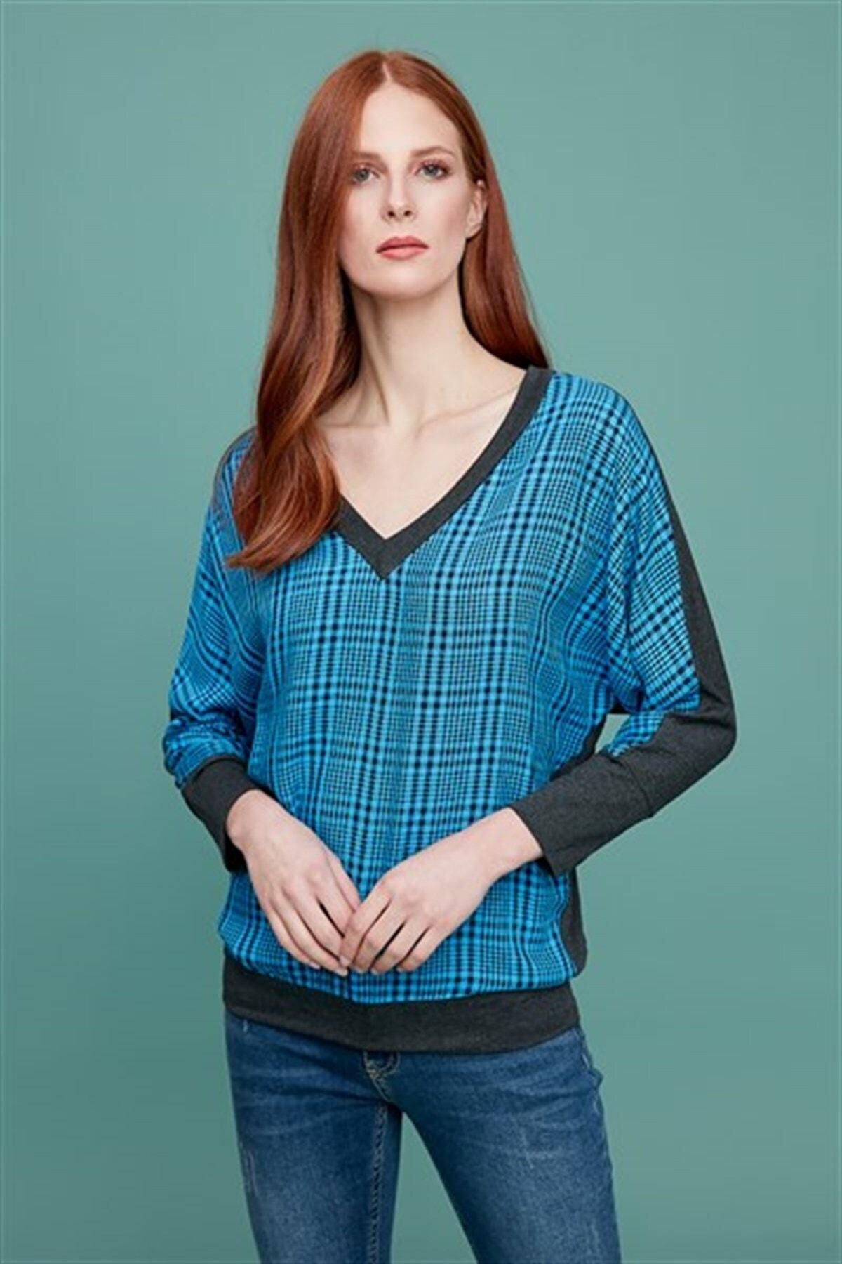 Journey Kadın Mavi Bluz 1