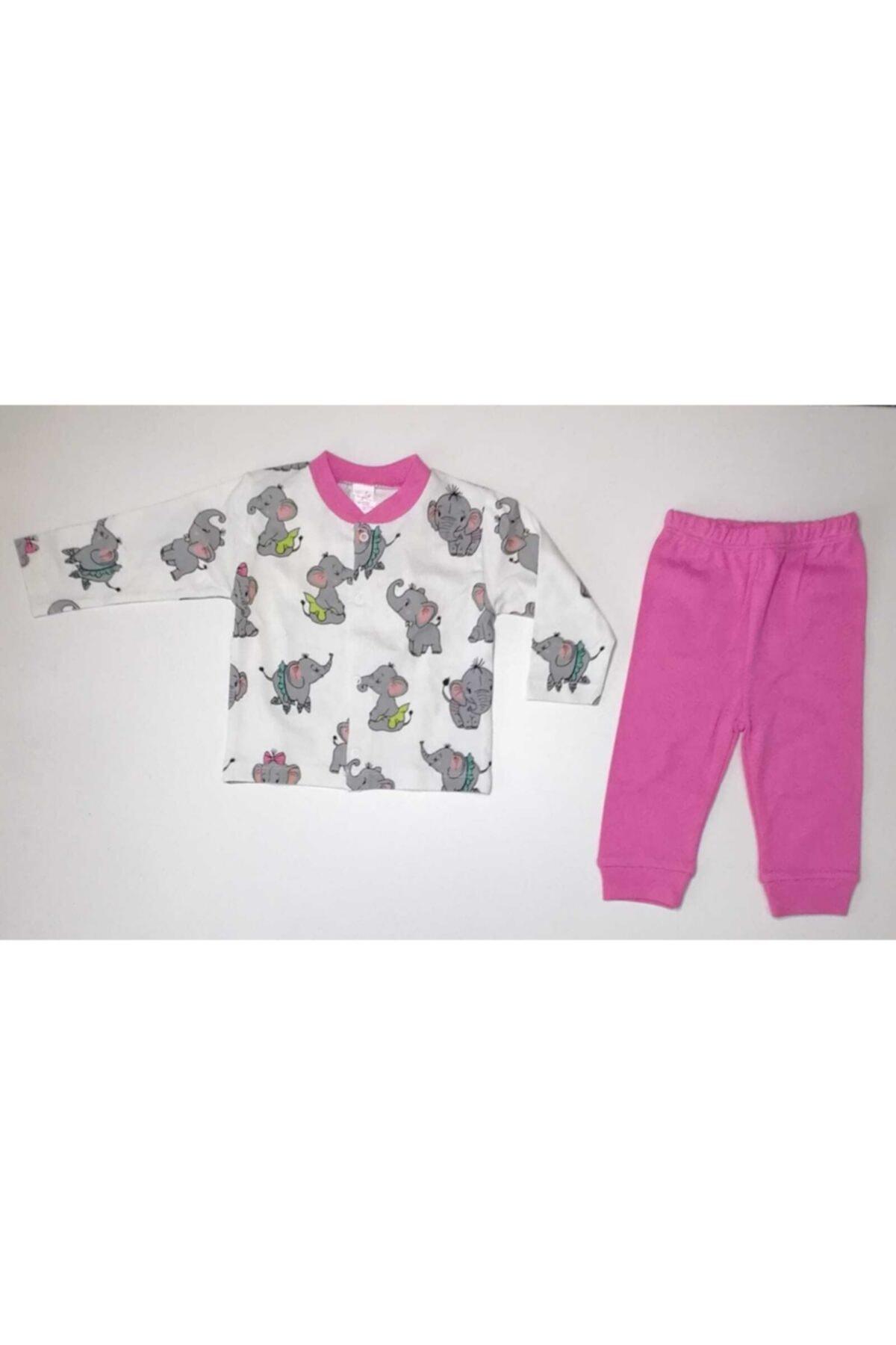 Breeze Fil Baskılı Bebek Pijama Takımı 1