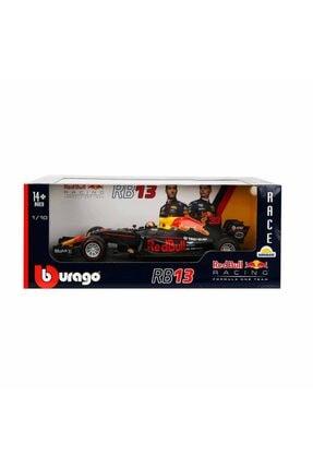 BBURAGO 1:18 Formula 1 Red Bull Racing Rb13 F1 Model Araba